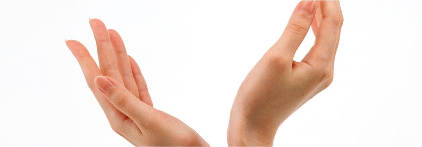 Invecchiamento delle mani